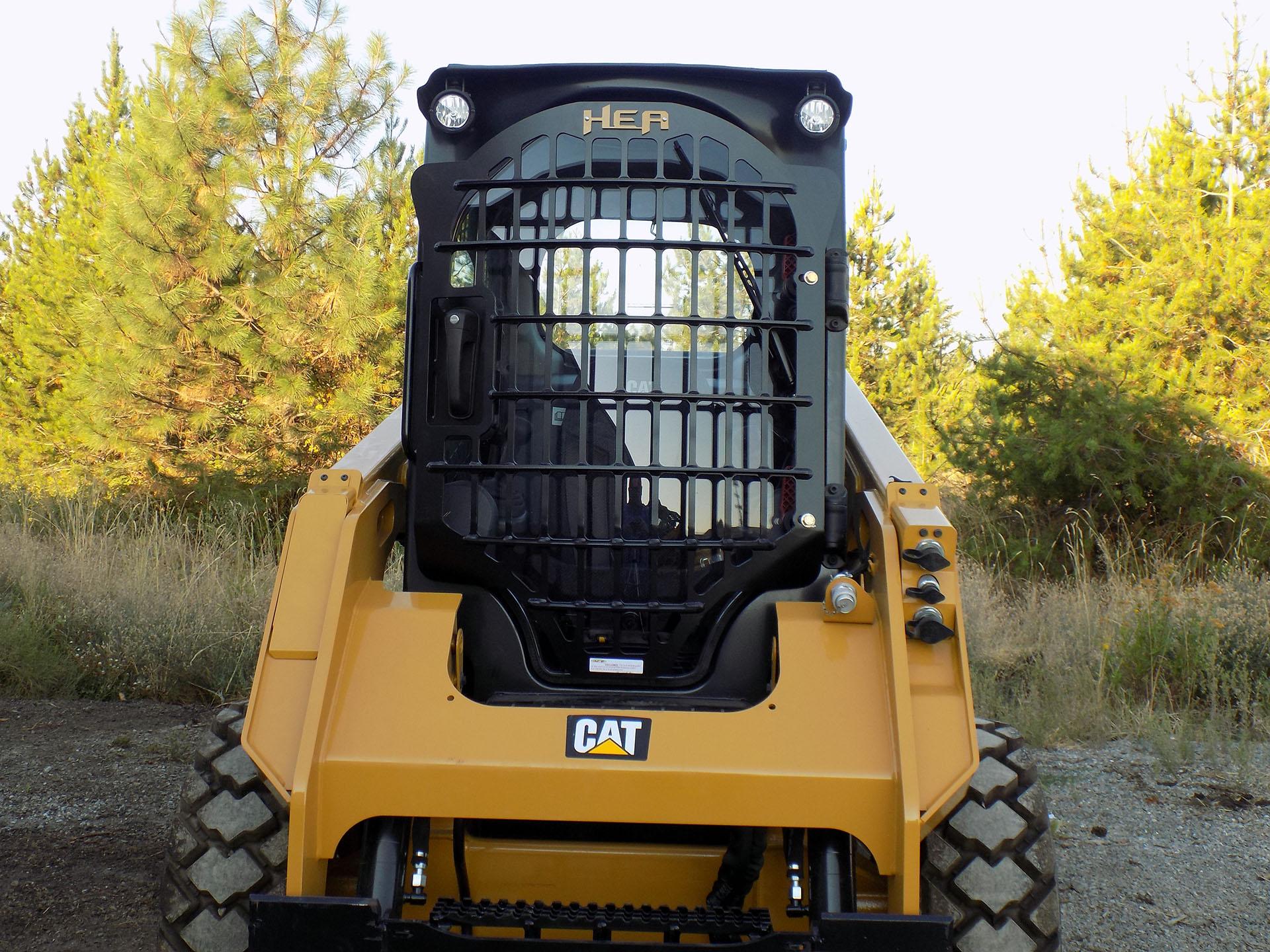 CAT 236D 2.5x5 Skeleton Door
