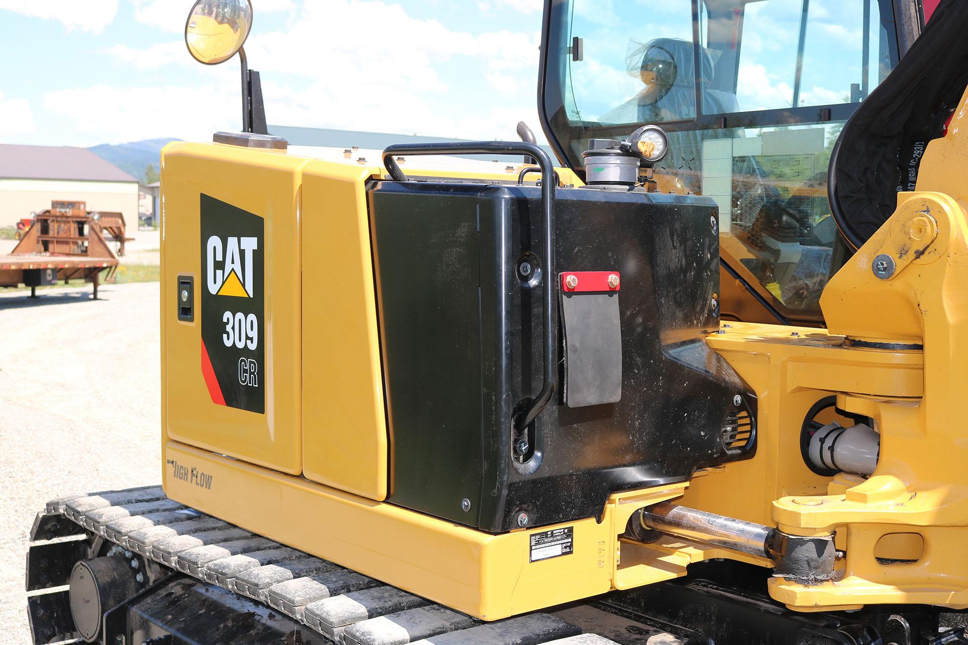 CAT 309 Custom Guarding