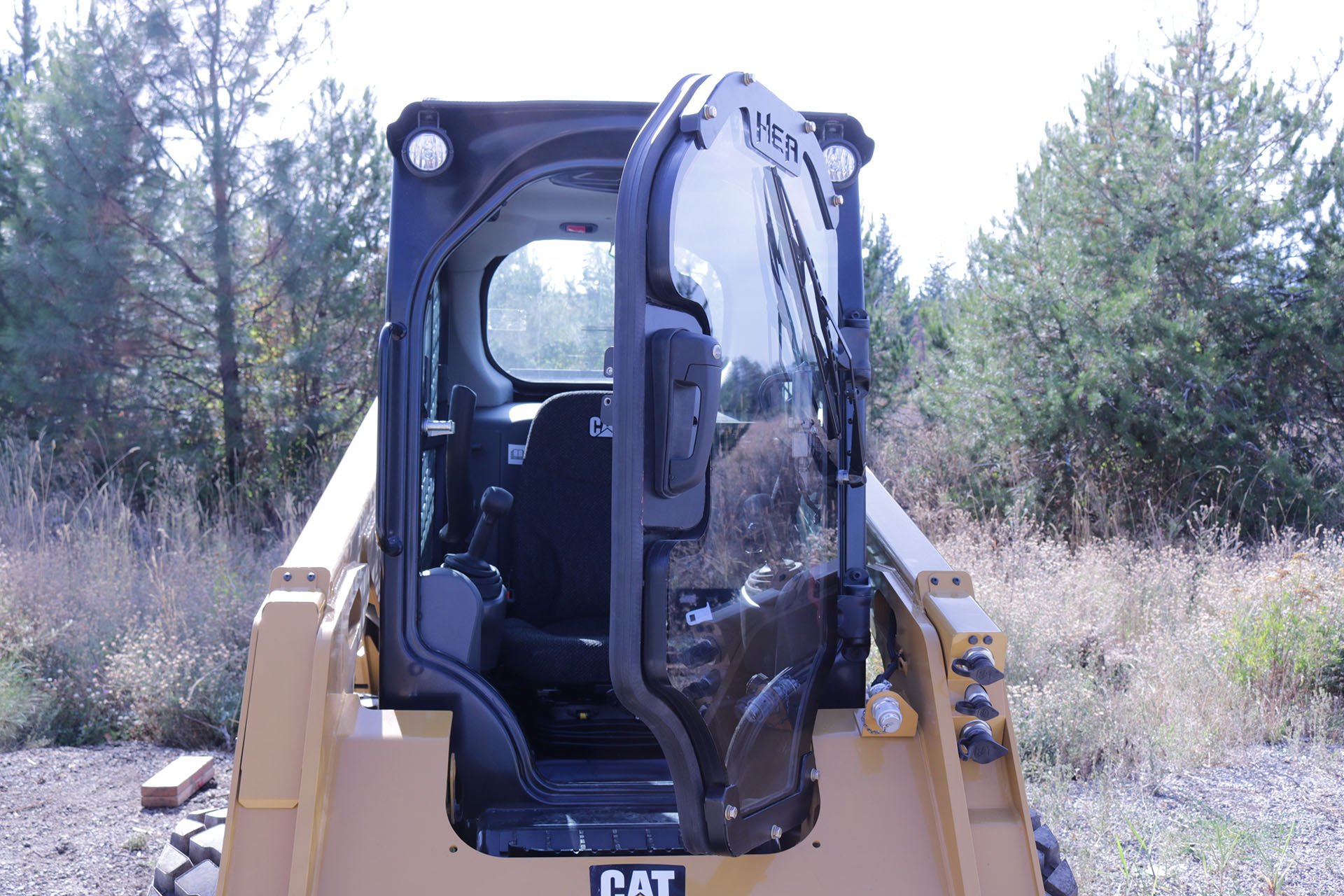 CAT 236D Ballistic Window