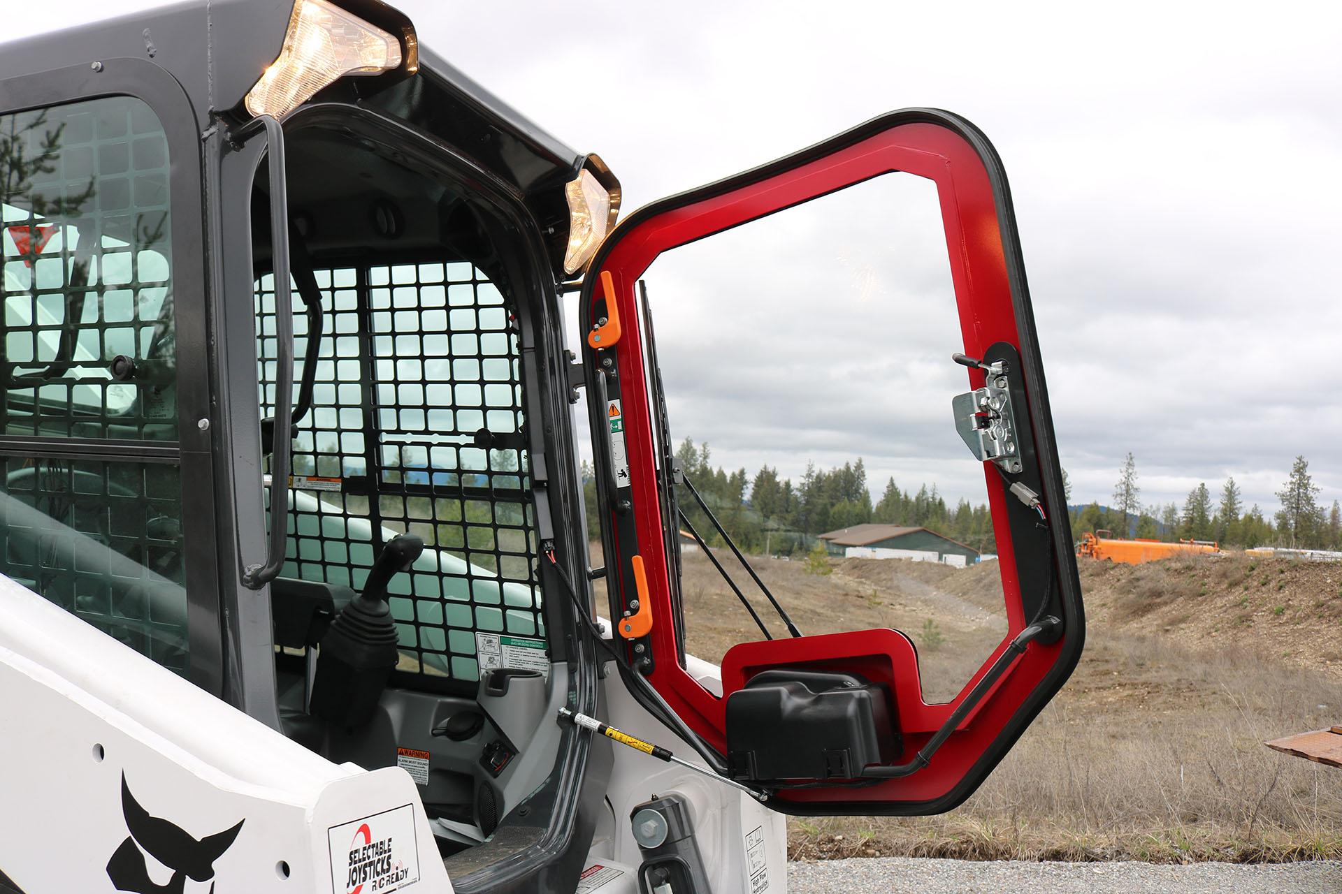 Bobcat T870 Ballistic Window