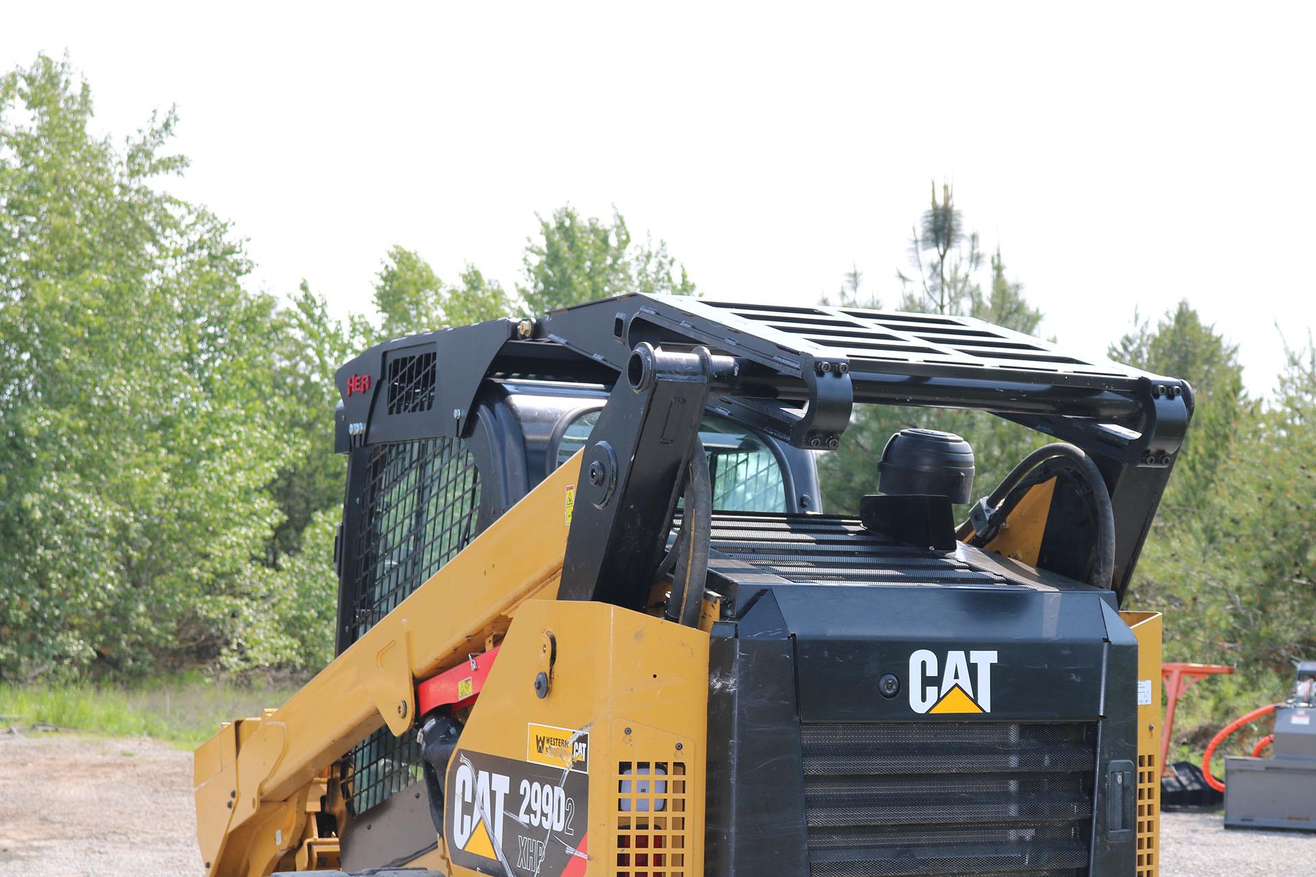 CAT 299D2XHP Enhanced Guard