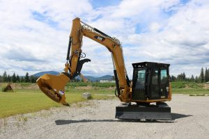 Caterpillar 308E2 Ballistic Logger Style Window Black Edition