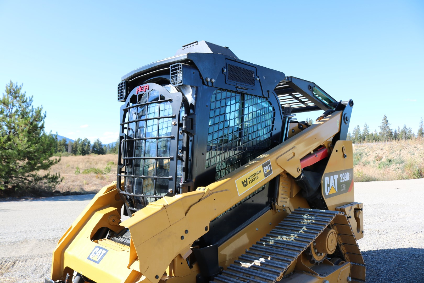Caterpillar 299D2 XHP 5x5 Skeleton Door