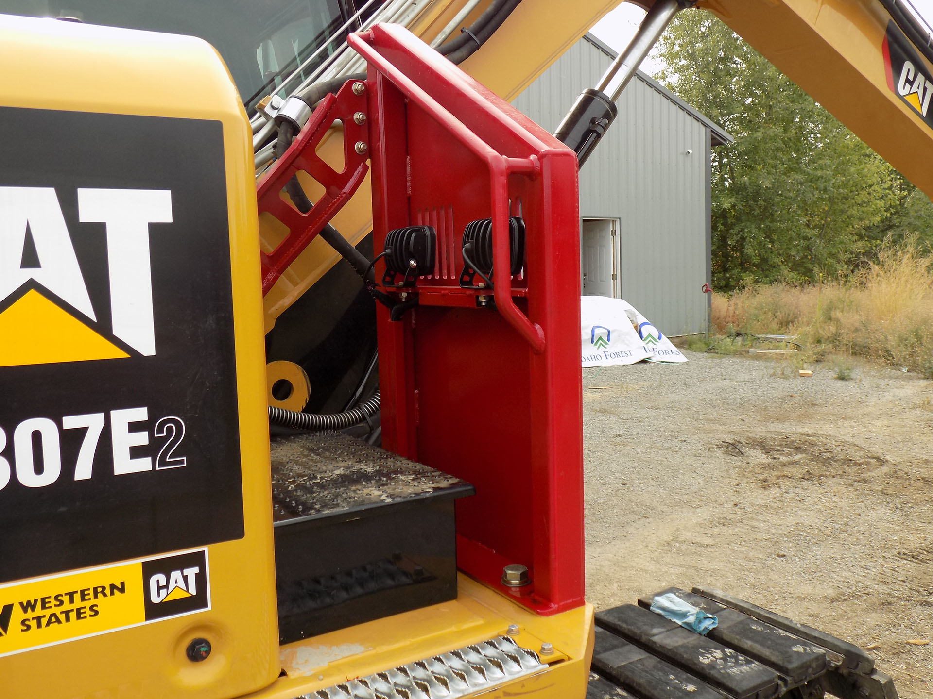 CAT 307E2 Custom Guarding