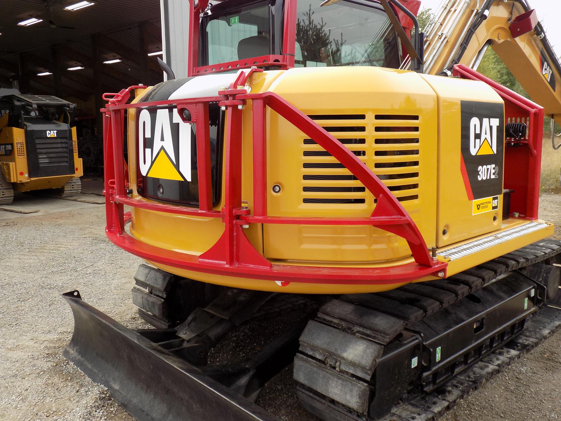 CAT 307E2 Custom Guarding