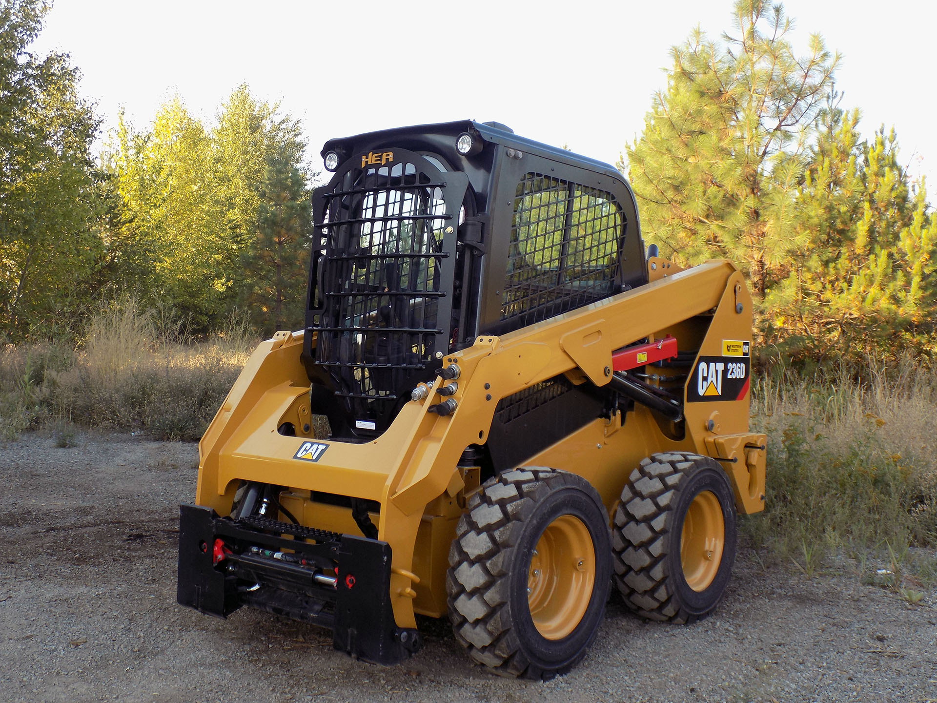 CAT 236D 2.5x5 Skeleton Door
