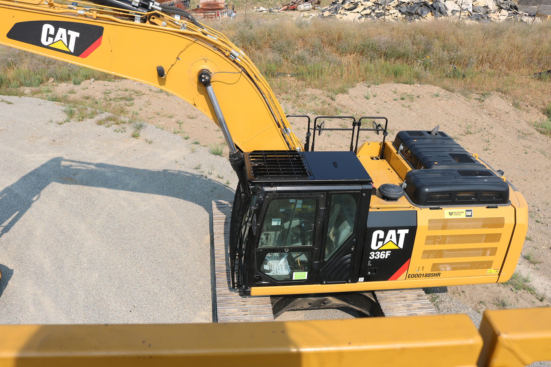 CAT 336 Bolt on Excavator Guard
