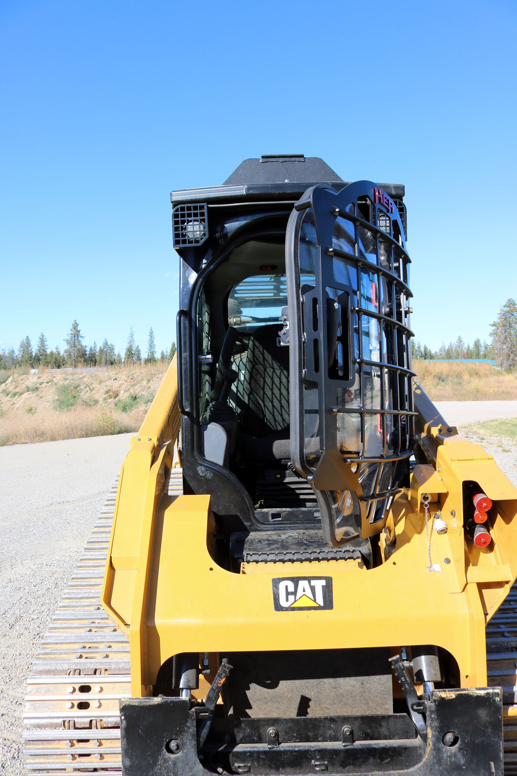 CAT 299D2 XHP 5x5 Skeleton Door
