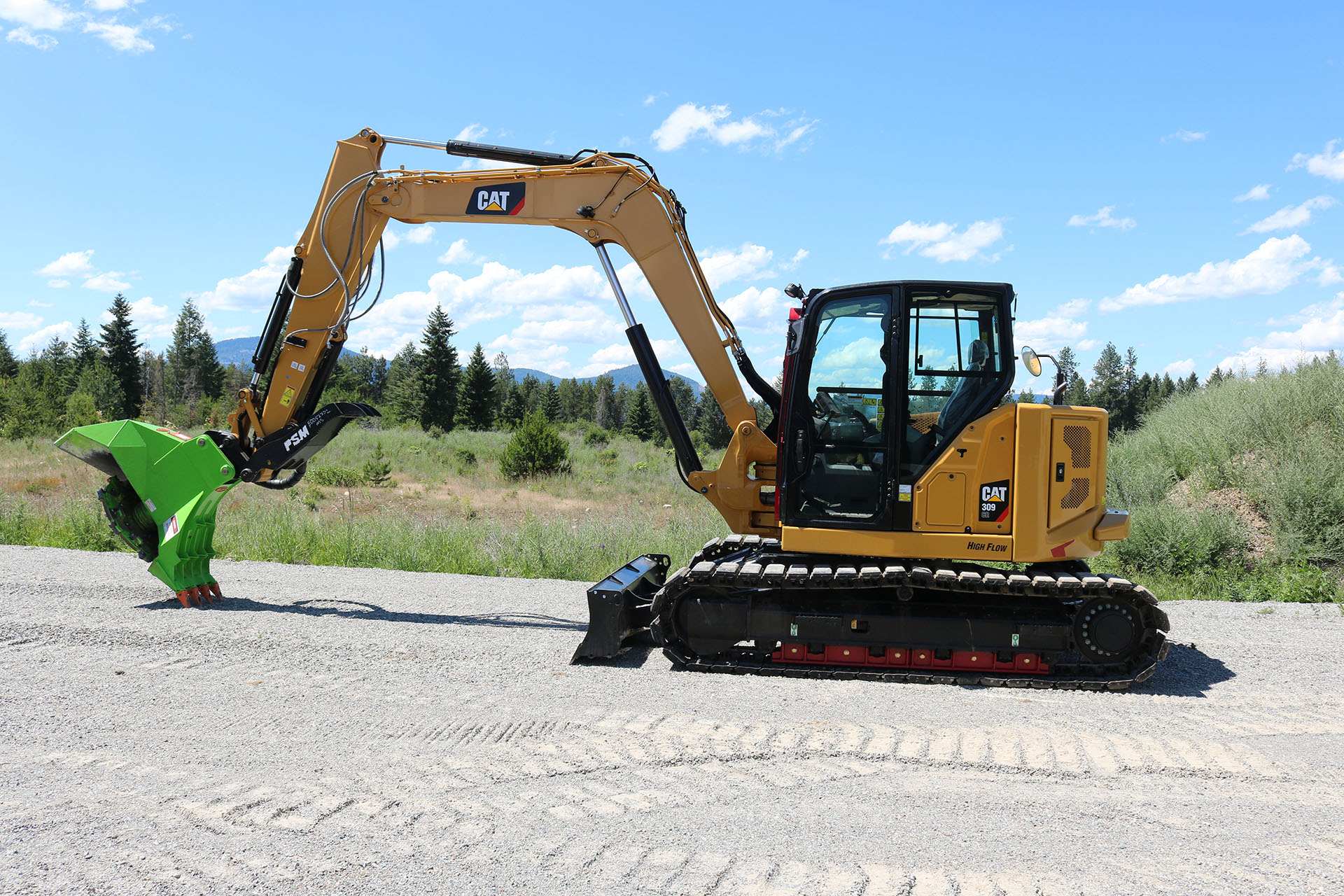 CAT 309 Custom Guarding
