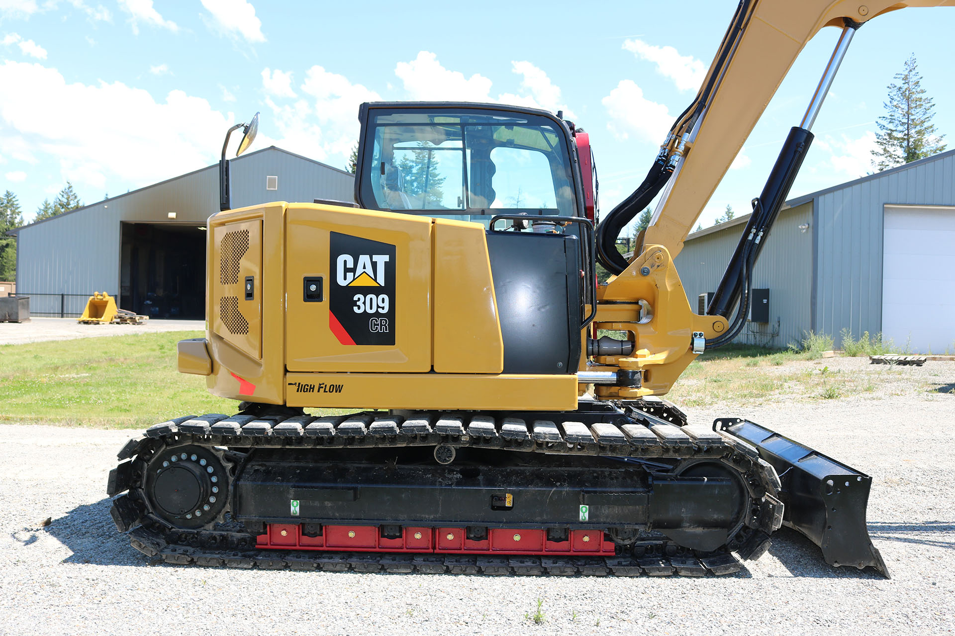 CAT 309 Ballistic Window