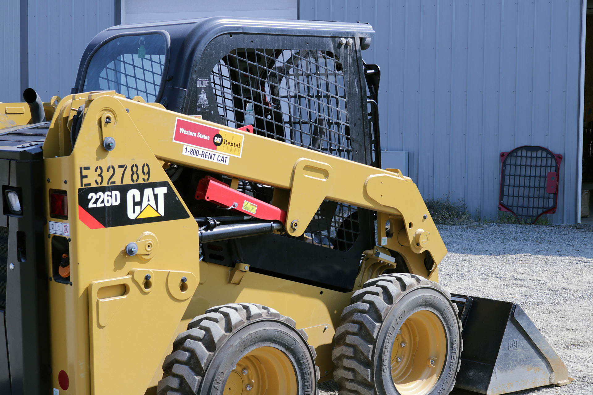 CAT 266D 2.5x5 Skeleton Door