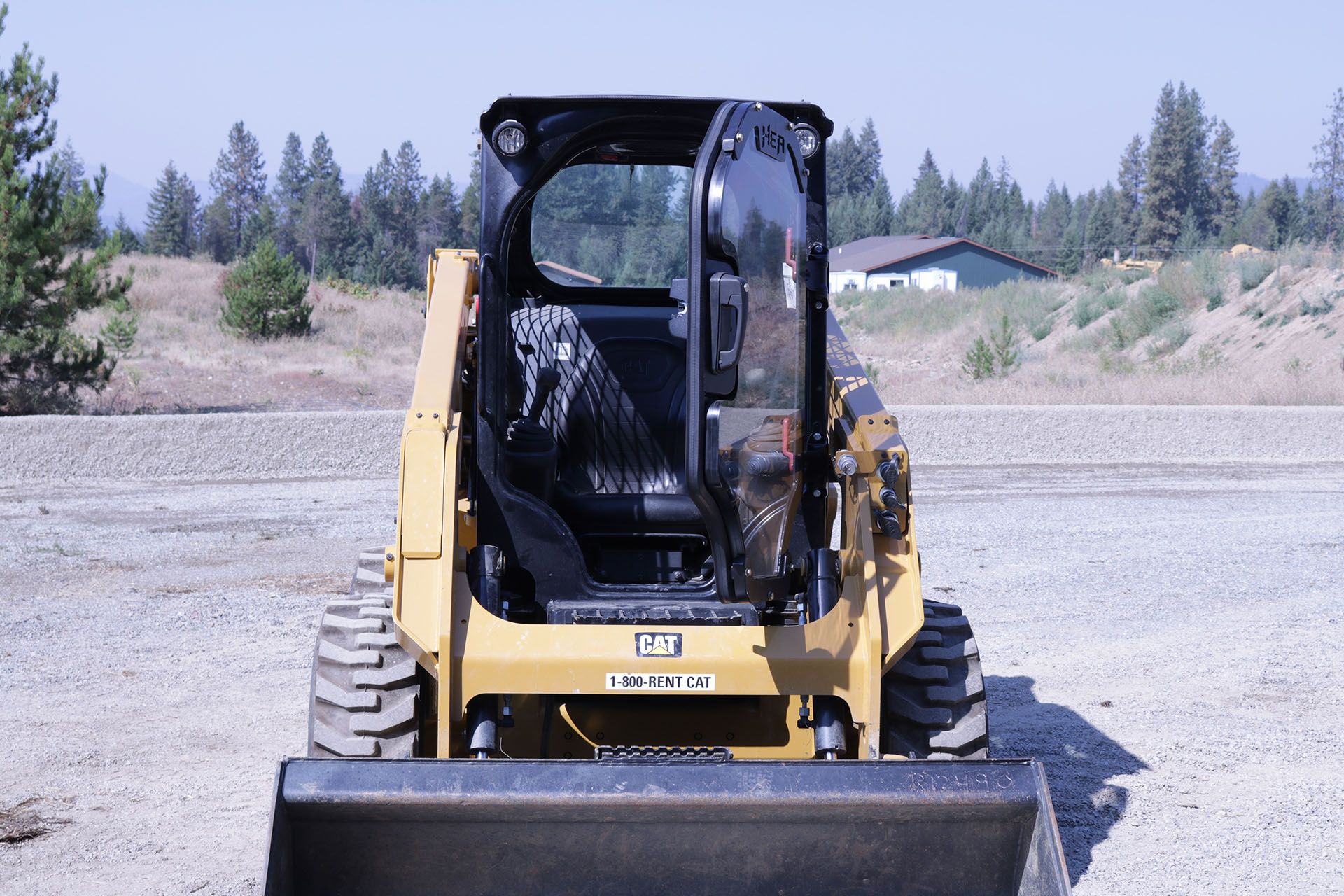 Caterpillar 226D Ballistic Door