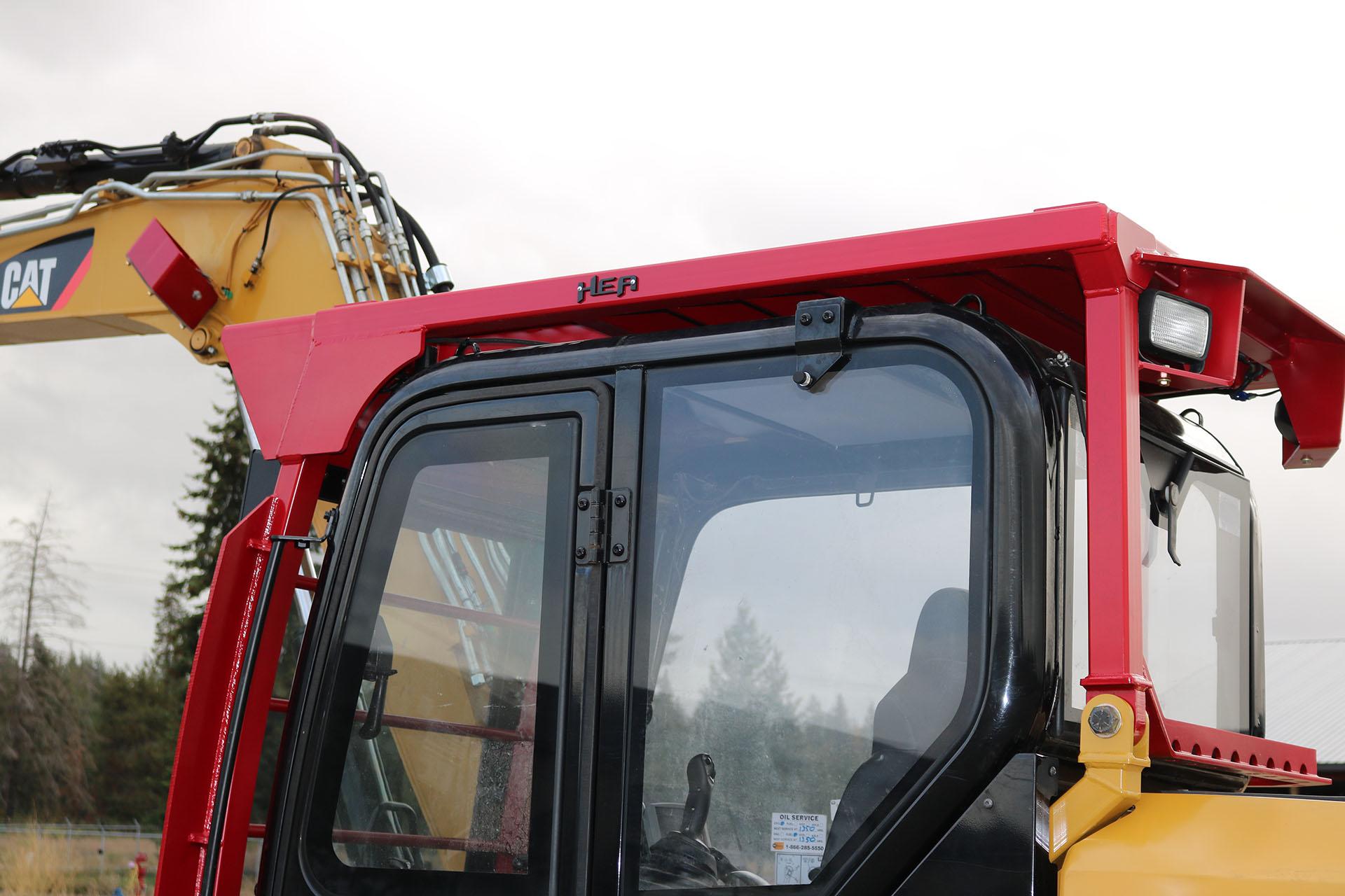 Caterpillar 308E2 Ballistic Logger Style Window