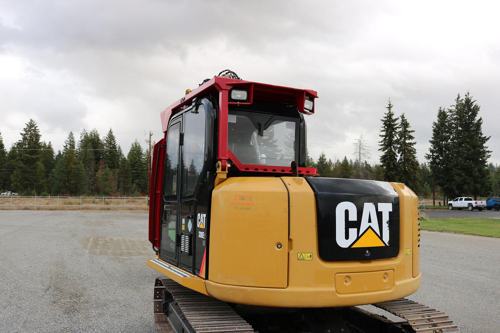 CAT 308E2 Custom Guarding