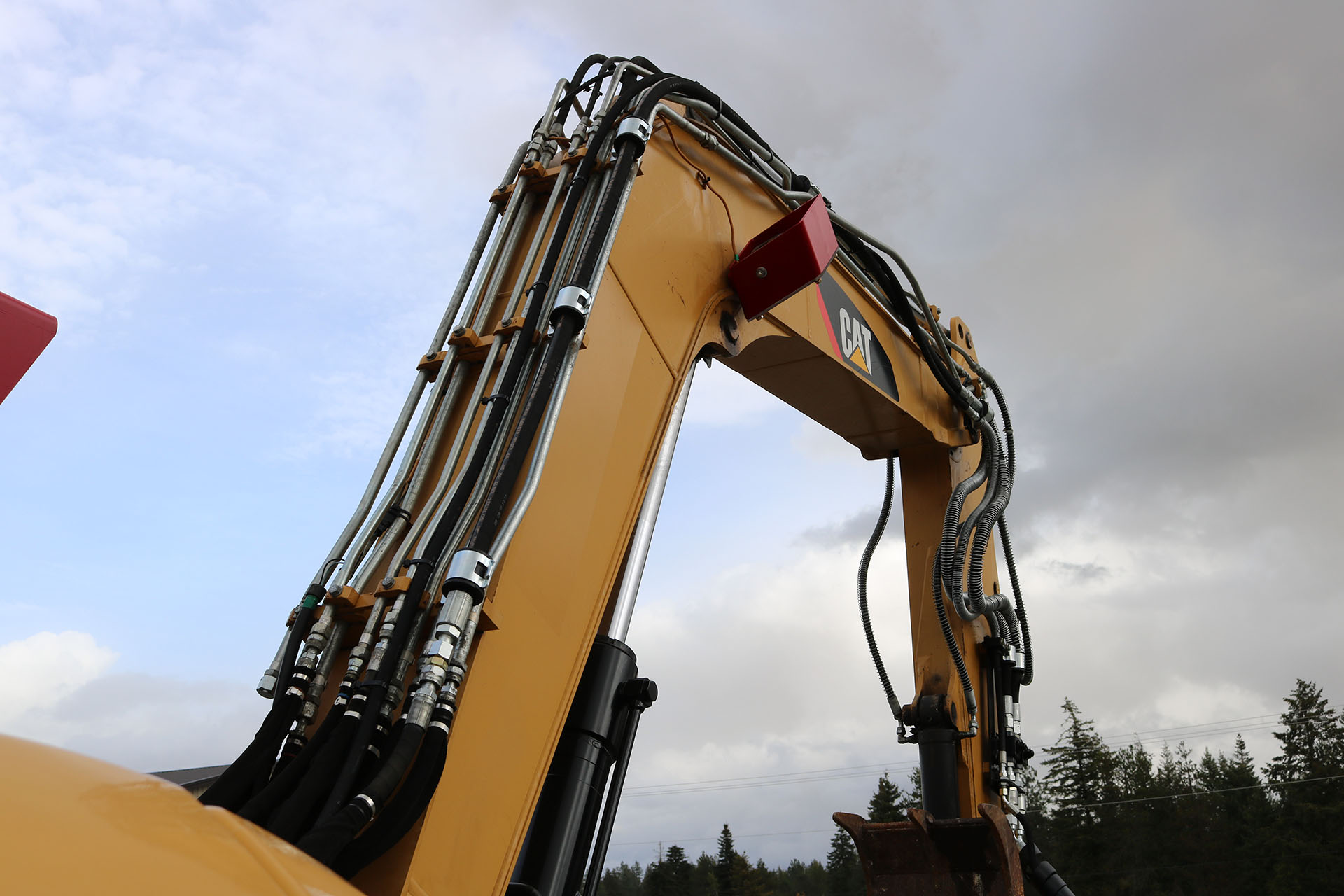 CAT 308E2 Custom Guarding