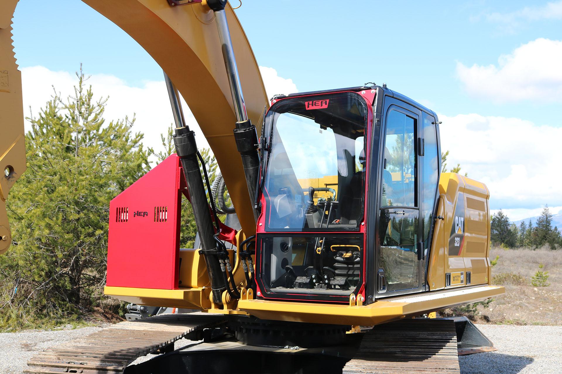 Demolition Guards for Excavators