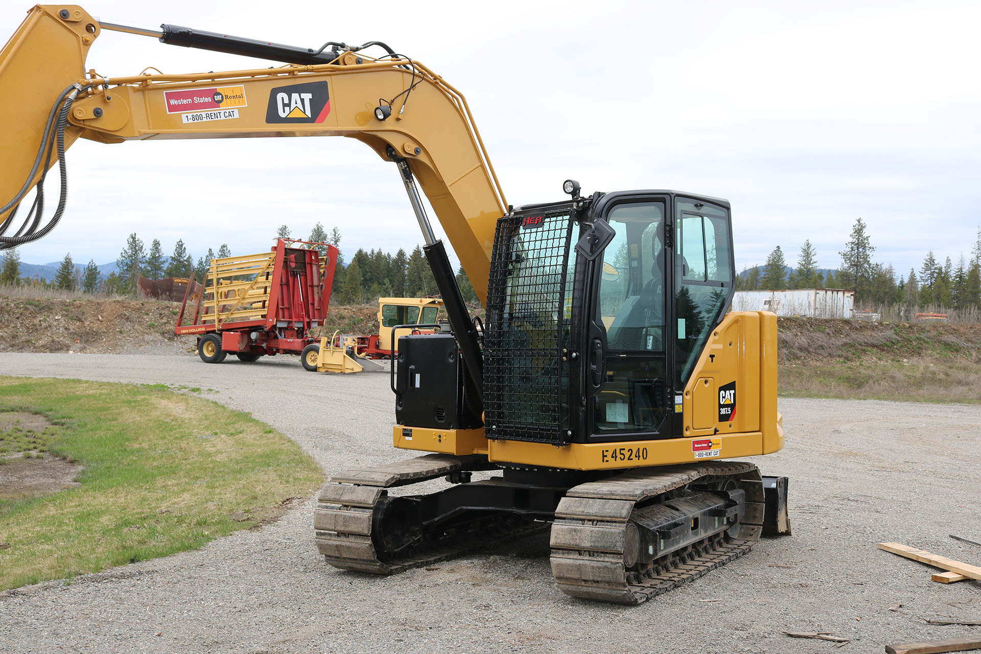 CAT 307.5 Next Gen Bolt on Excavator Guard