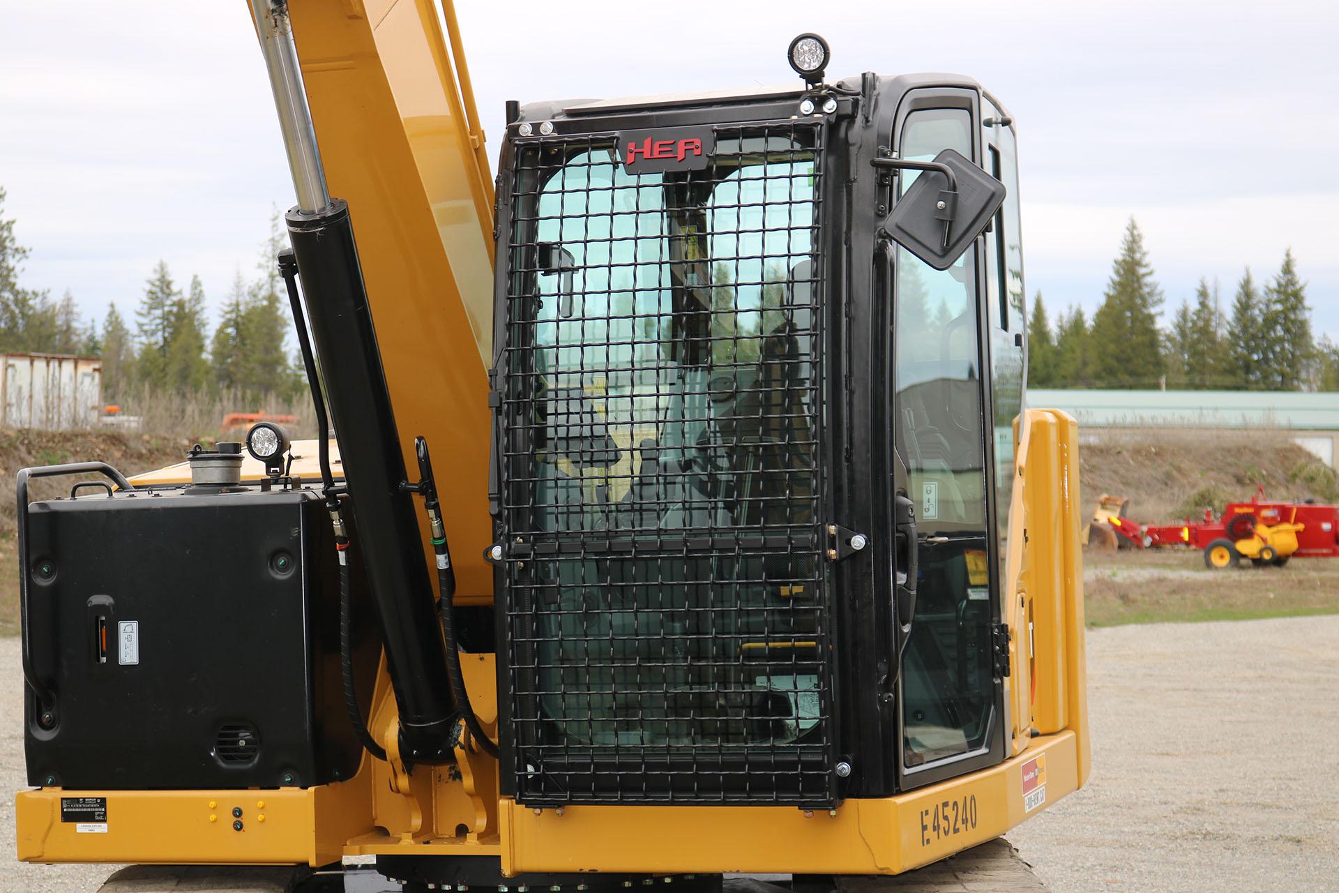 CAT 307.5 Next Gen Bolt on Excavator Guard
