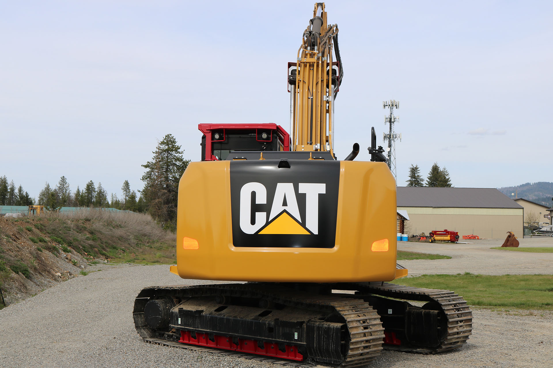 CAT 316F Custom Guarding