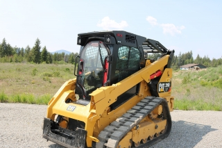 CAT 299D2XHP equipped with Enhanced Guard