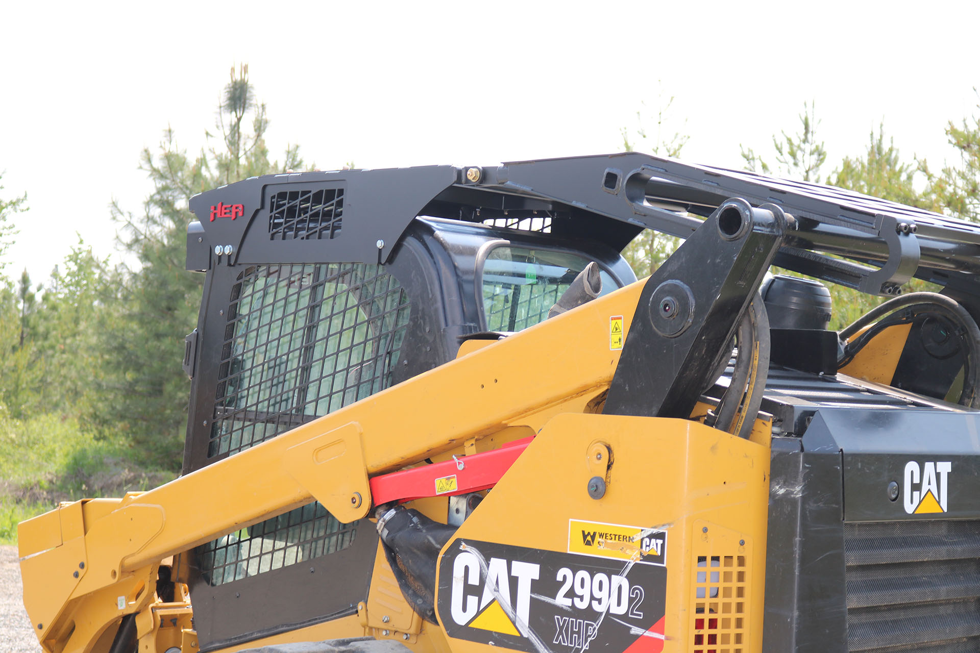 CAT 299D2XHP Enhanced Guard