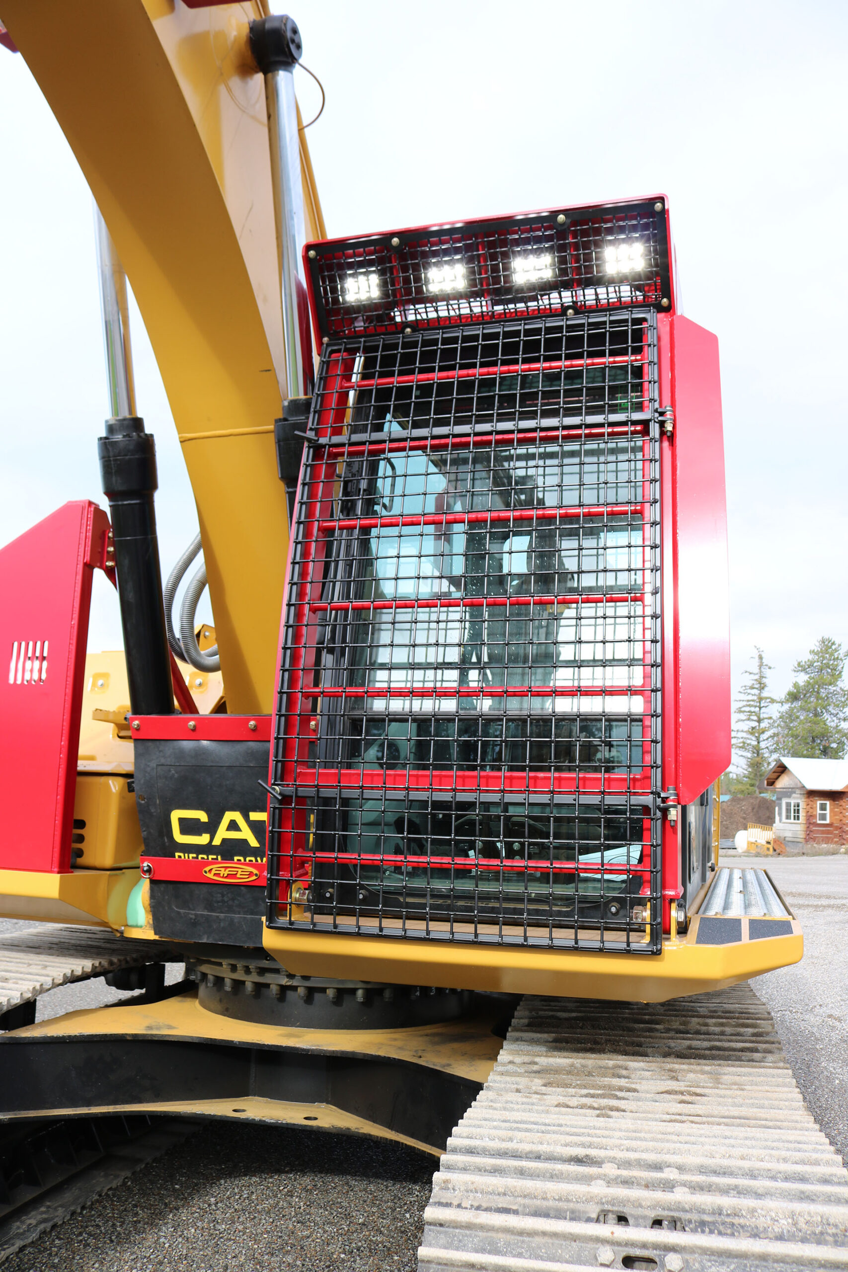 CAT 323FL Bolt on Excavator Guard
