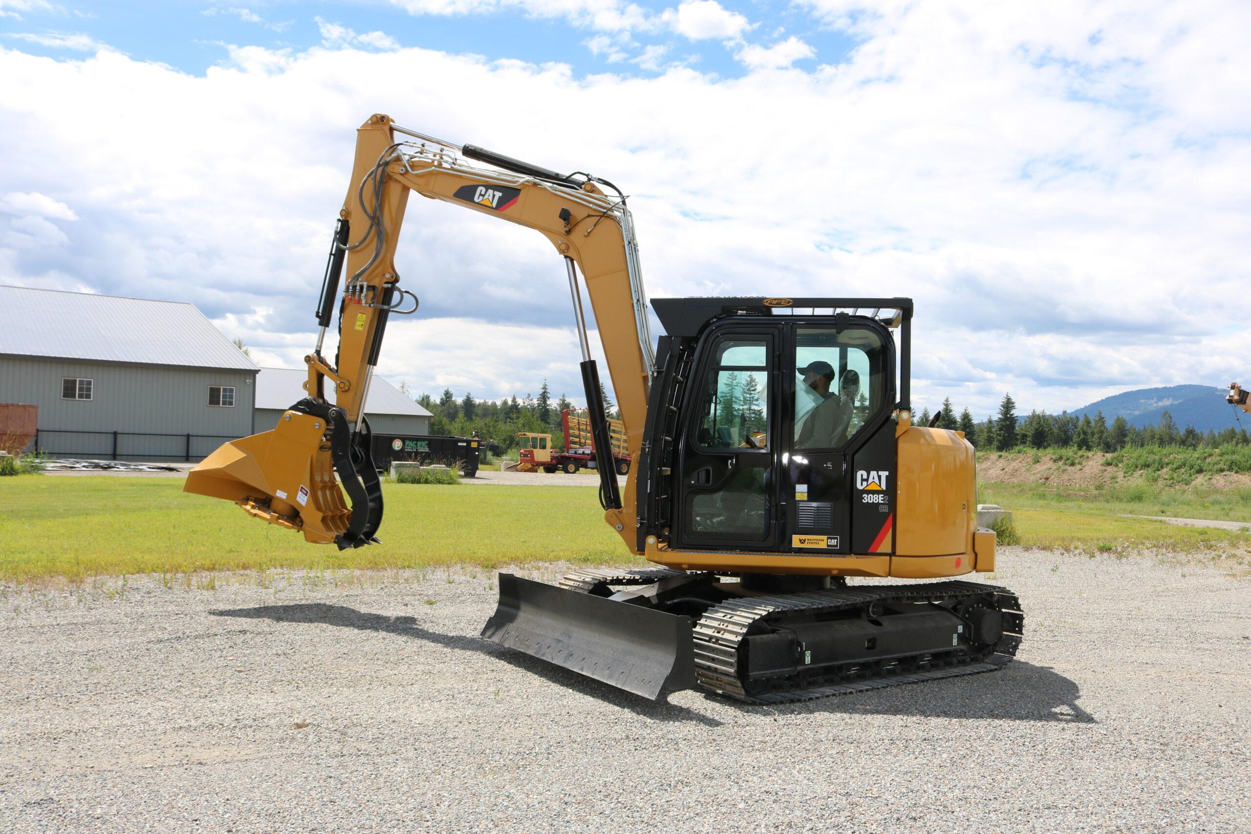 Caterpillar 308E2 CR Enhanced Guarding