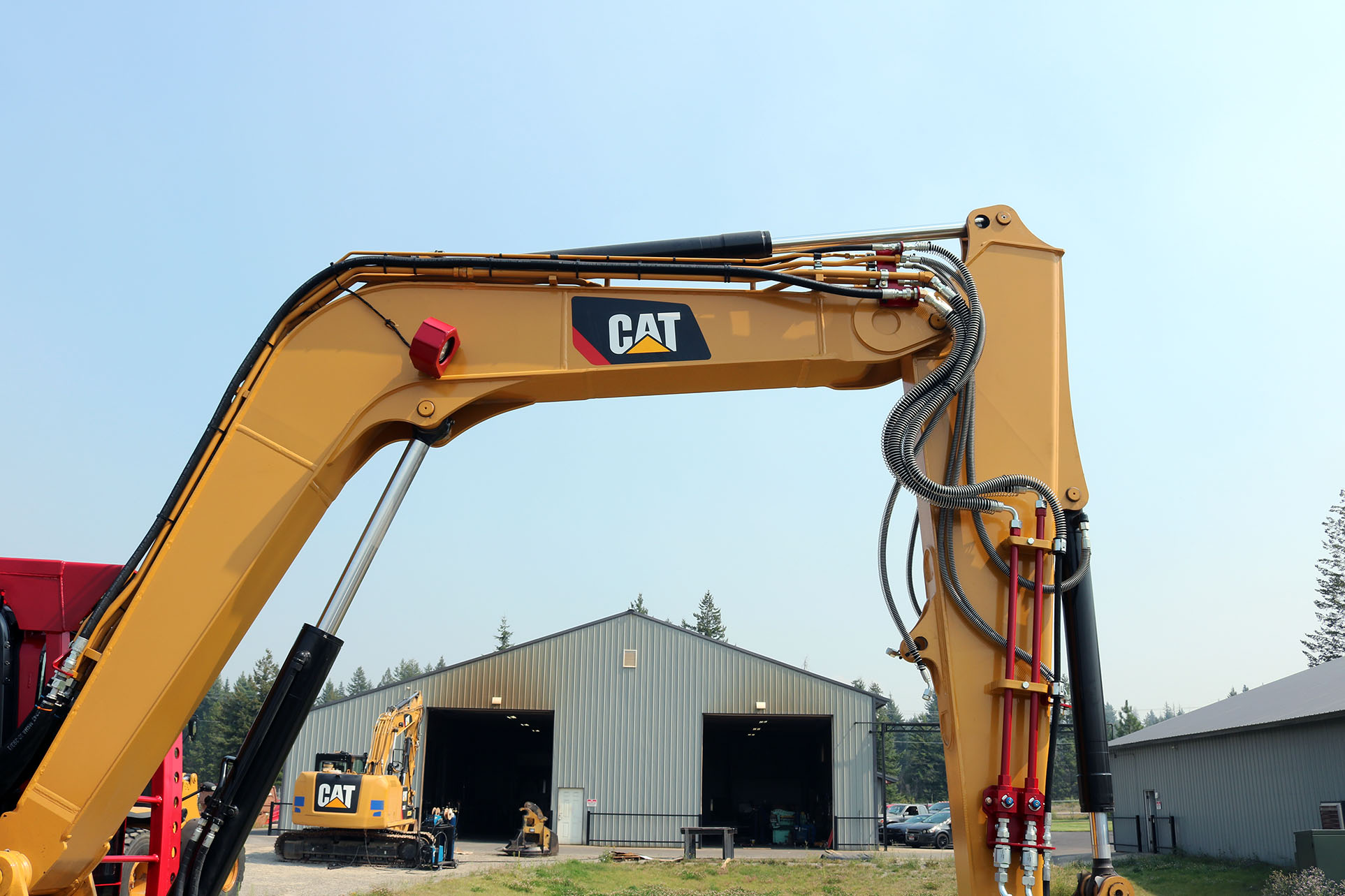 Cat 309 Ballistic Guard Package and RDM34EXH
