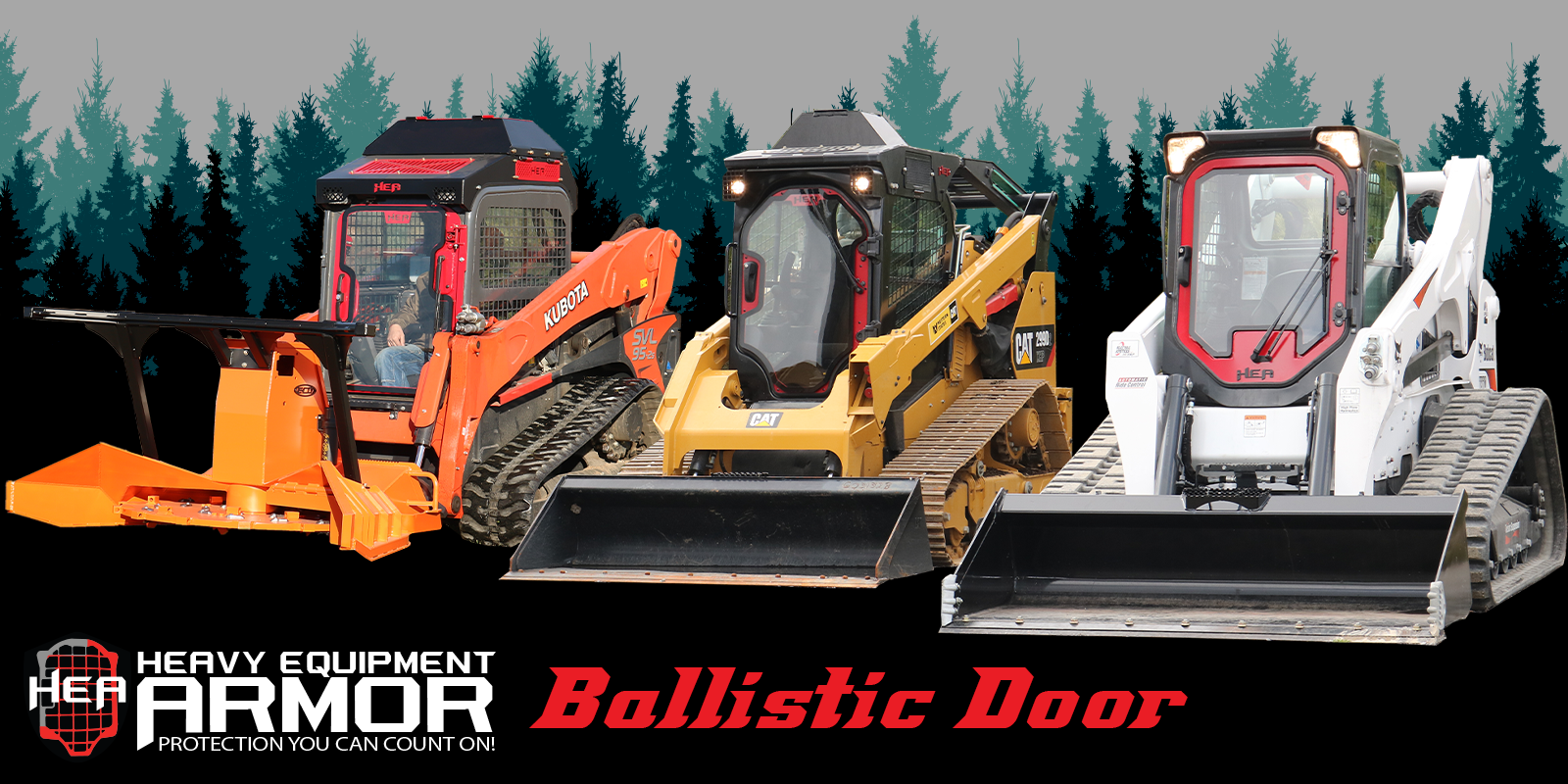 Skid Steer Ballistic Door Products
