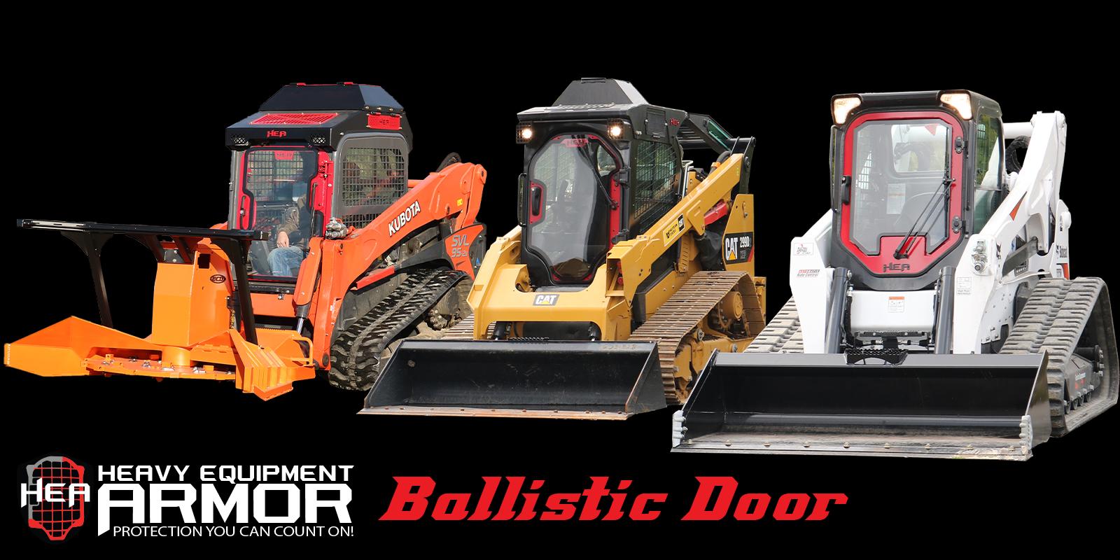 Skid Steer Ballistic Door