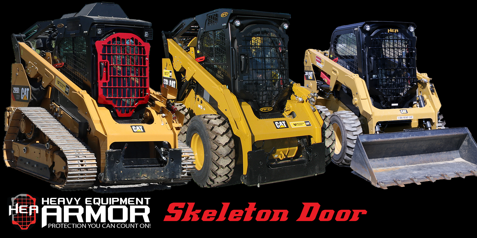 Caterpillar Skid Steer Skeleton Door Attachments