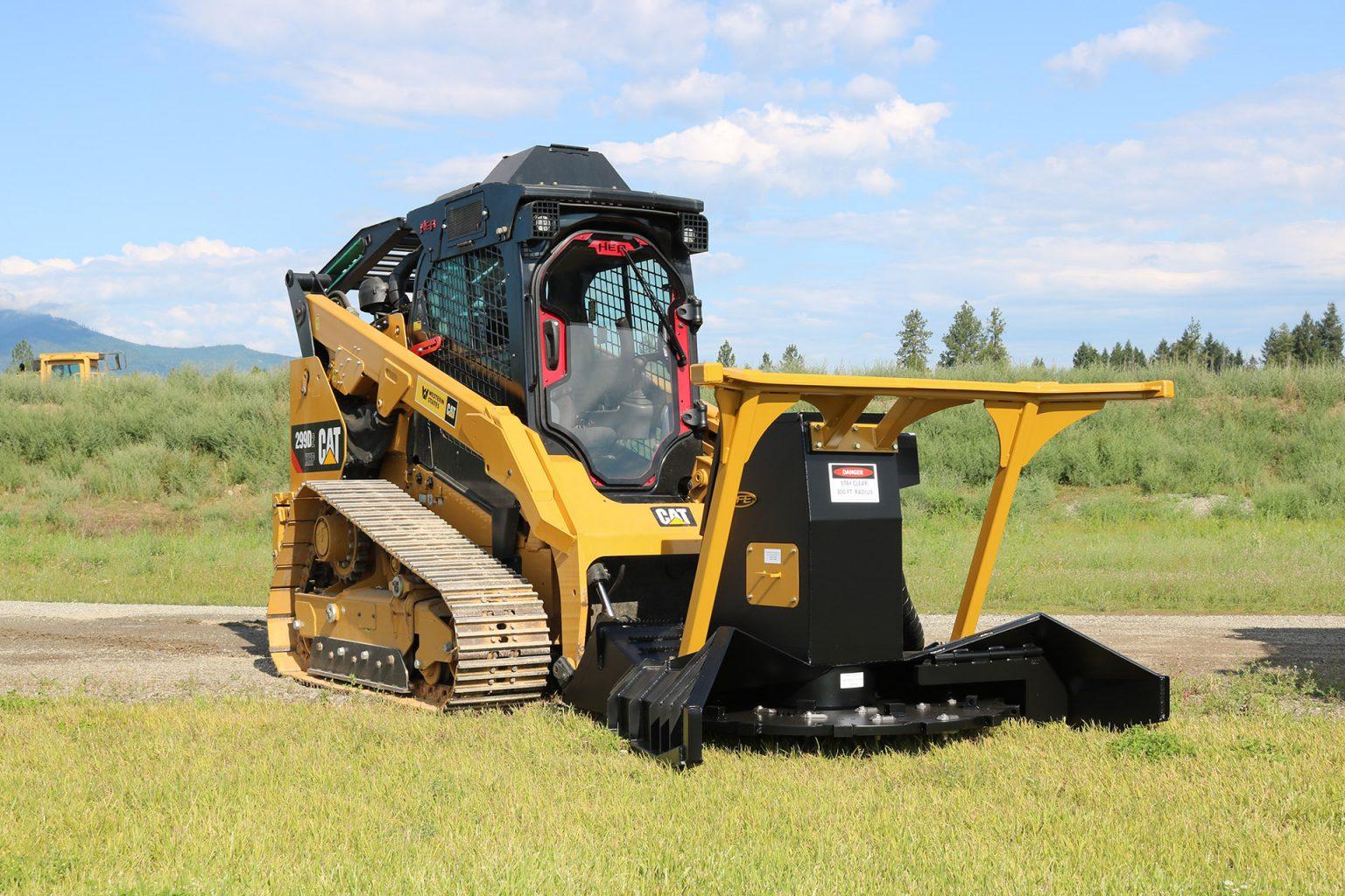Caterpillar 299D2 Enhanced Cab Guard and Ballistic Defender Door