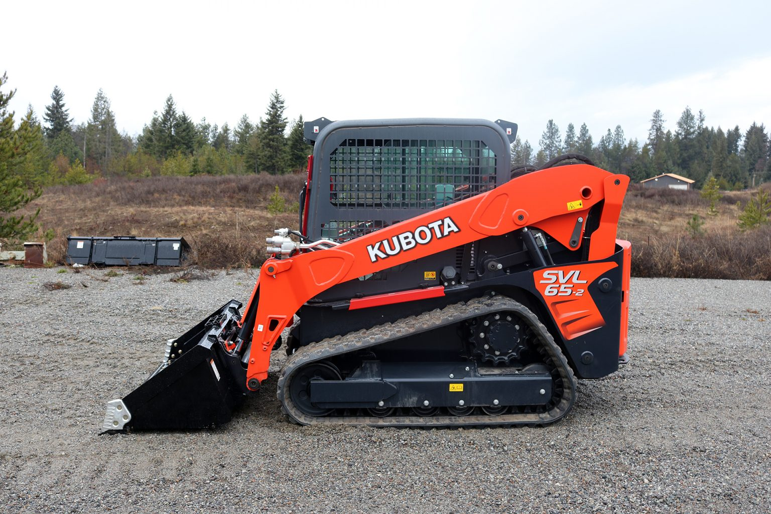 Kubota SVL 65-2 Ballistic Door