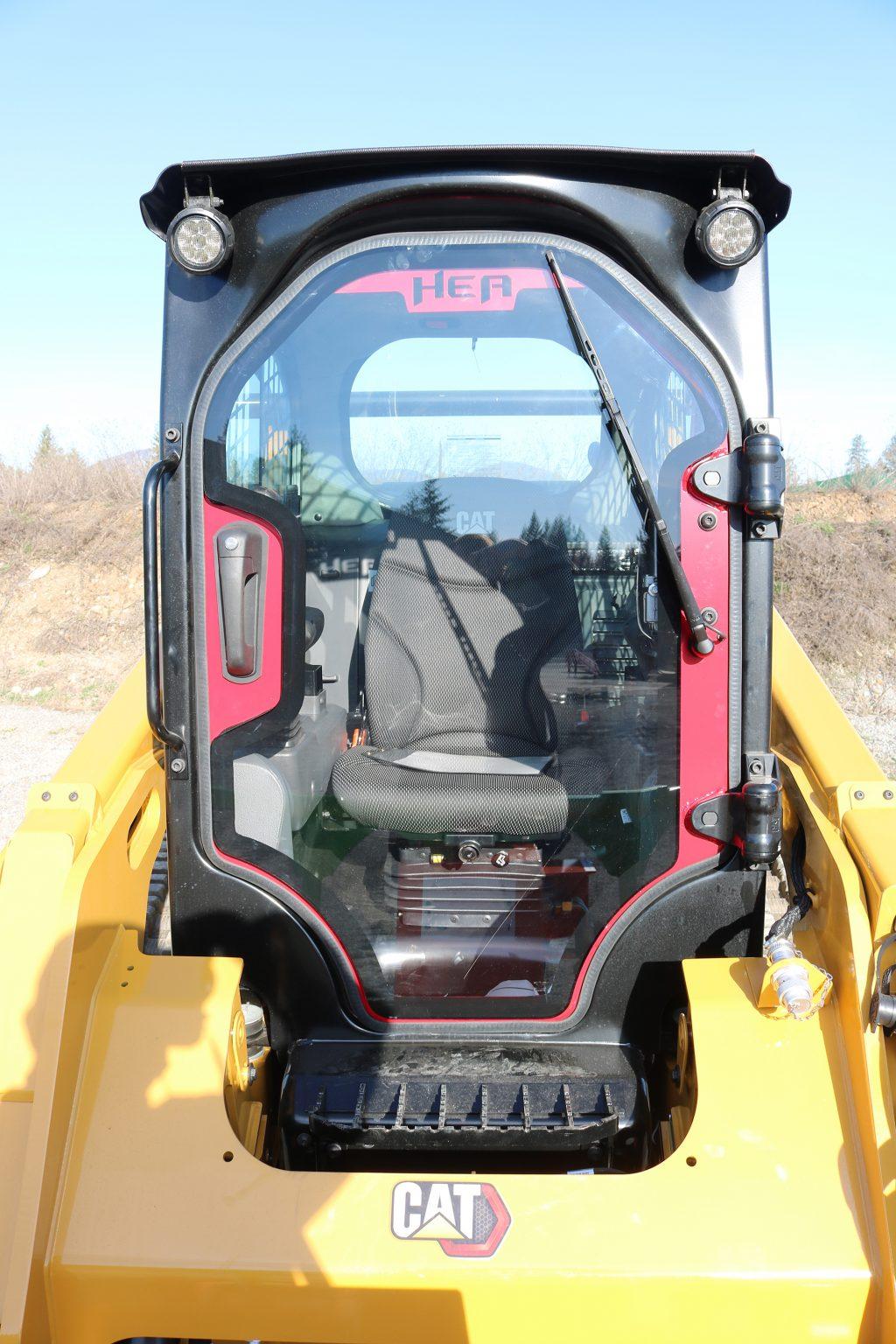 CAT 259D3 Defender Ballistic Door