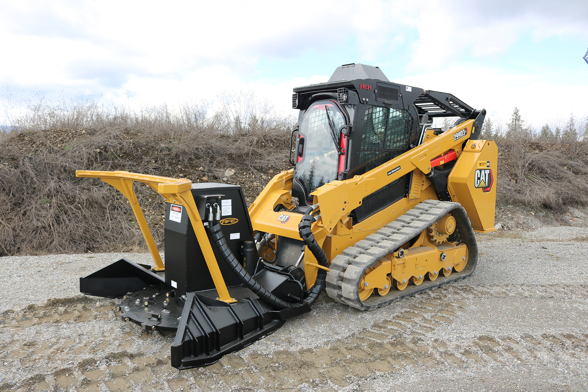 CAT 299D3 XE - Ballistic Window