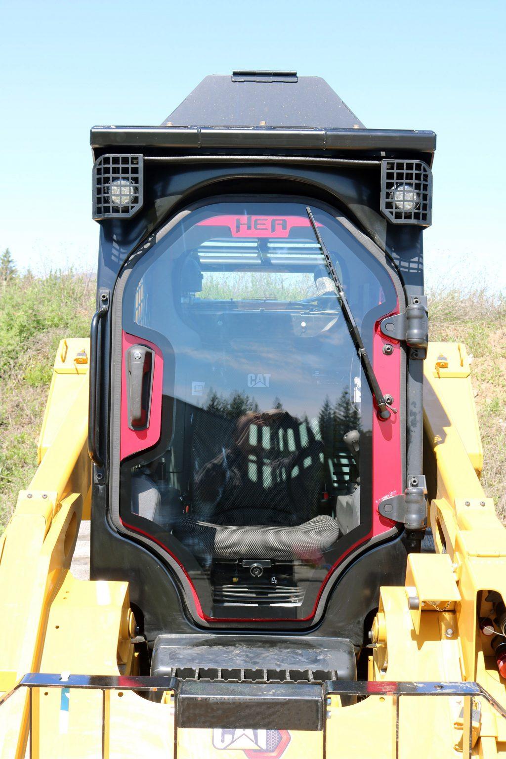 Cat 299D3 Defender Door and Top Cab Guard