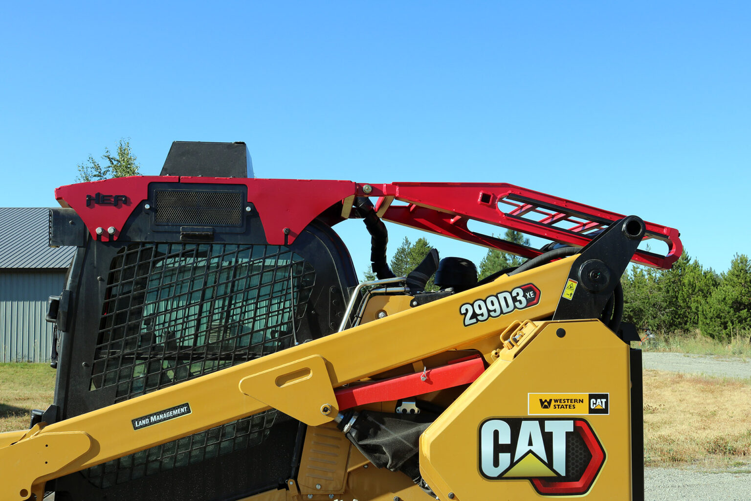 CAT 299D3 Steel Track ~ HEA Full Guarding
