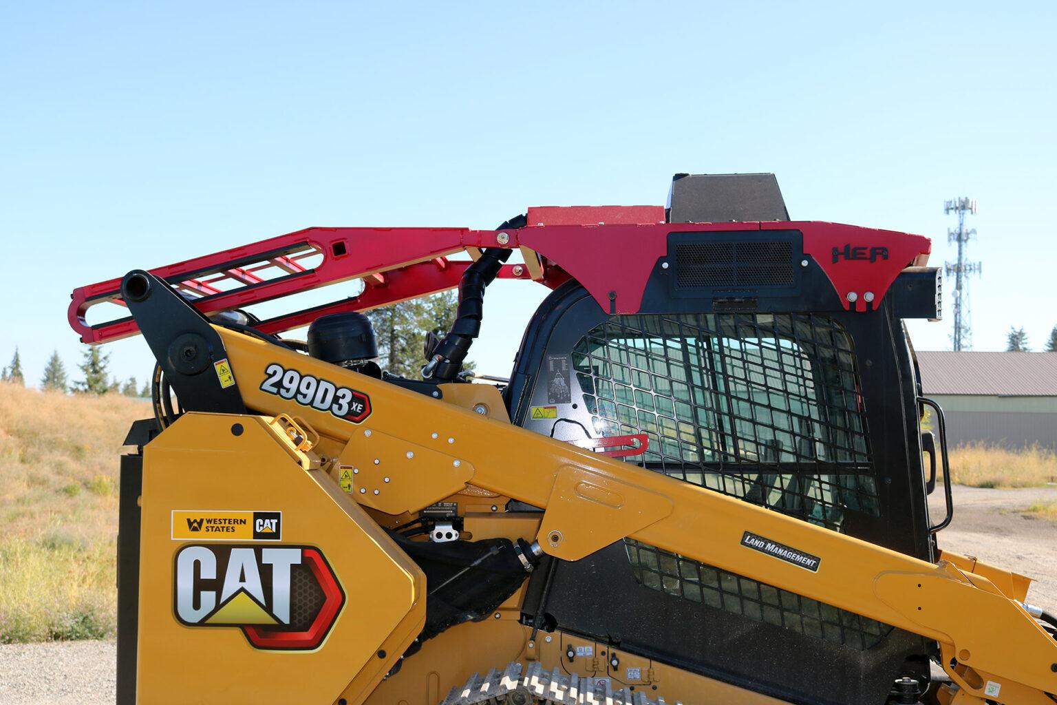 CAT 299D3 Steel Track ~ HEA Full Guarding