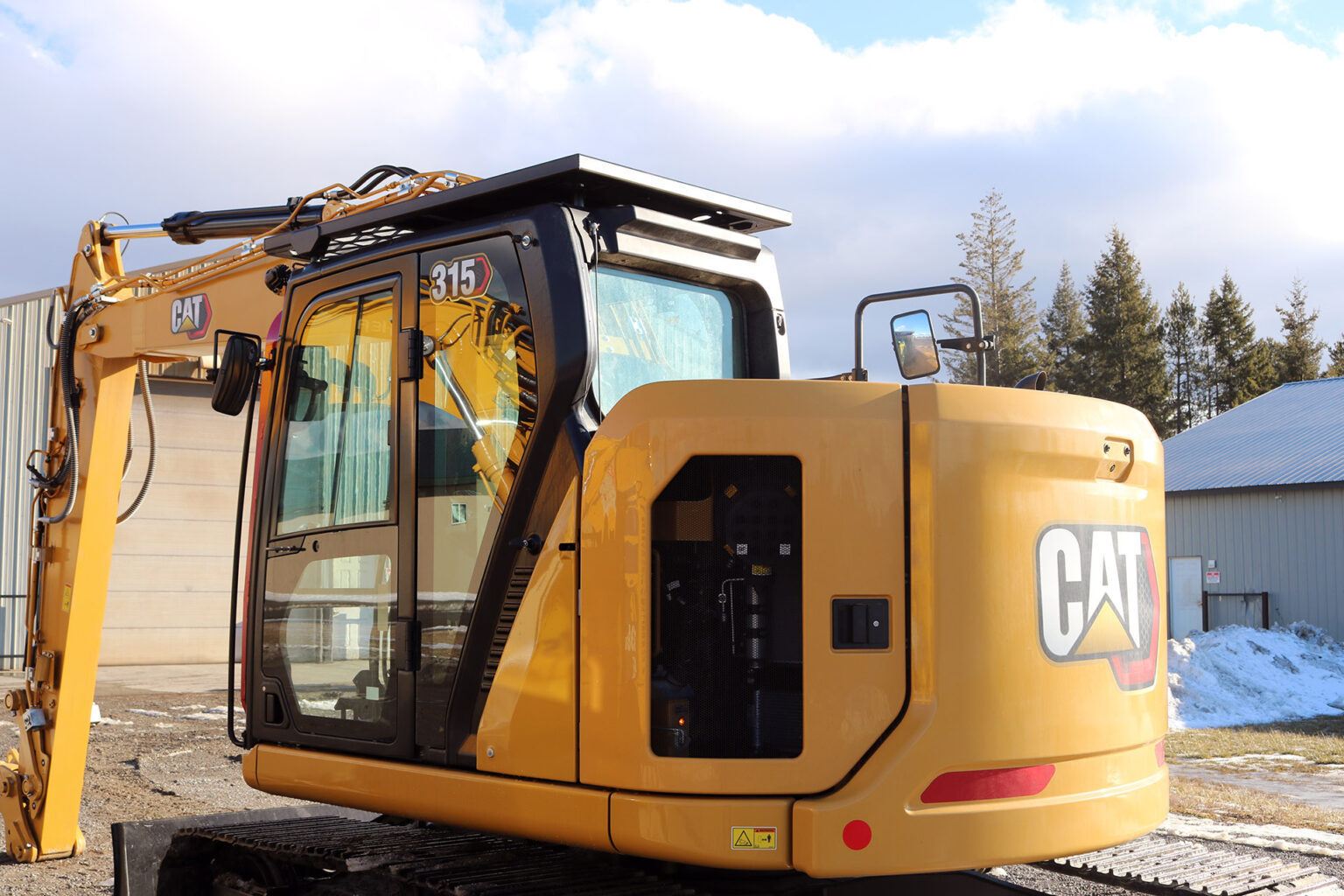 Caterpillar 315 Next Gen Bolt on Top Cab Guard