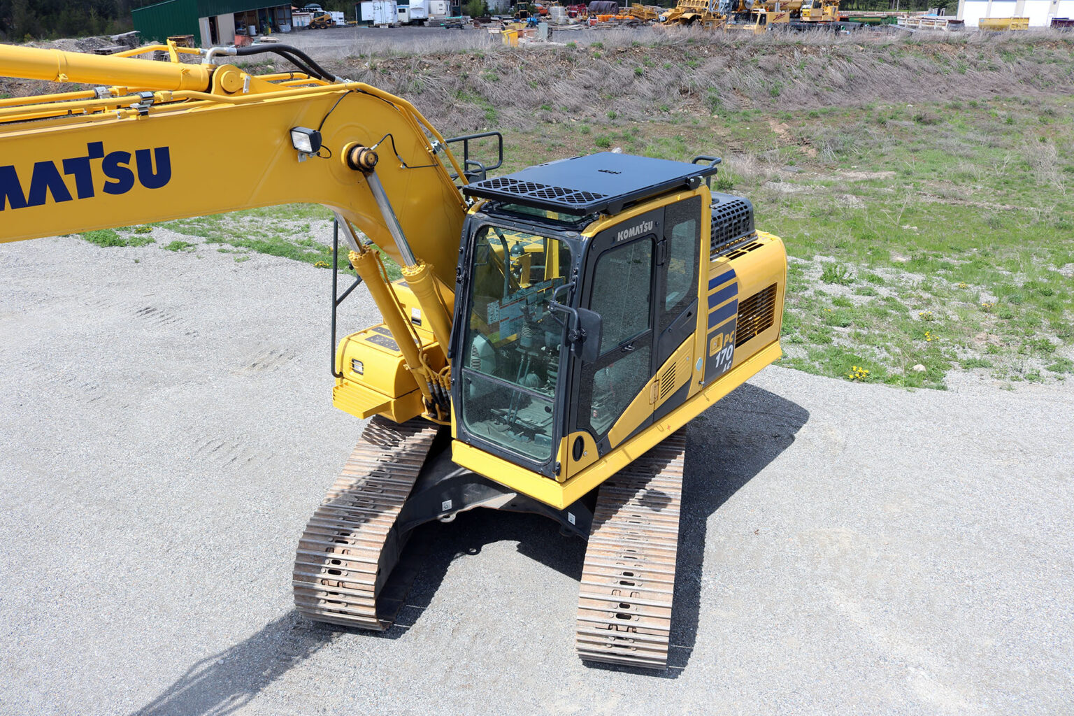 Komatsu 170LC Bolt on Top Guard and Screen